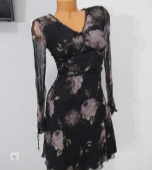 LUNA design prozračna haljina vel. 38 SVILA