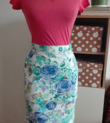 Cvetna pencil suknja XS