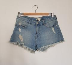 H&M mid waist teksas sorc