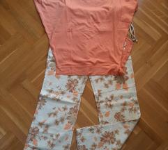 Lanene pantlone i majica
