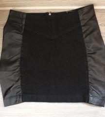 LINK zenska suknja teksas/koza 34 vel