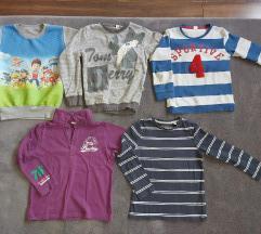 Majice dug kratak rukav,duksevi za decaka 116 122