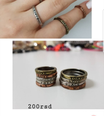 Tally weijl prstencici