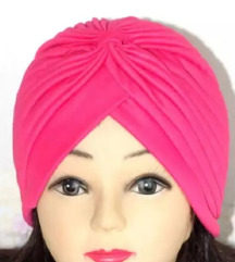 Turban nov roze