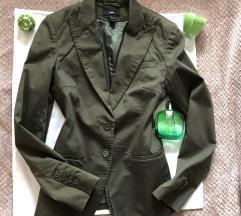 H&M maslinasto zeleni sako 36 ili S