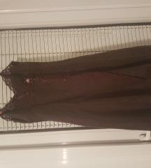 Karen Millen braon silk haljina