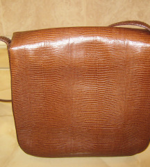 GANNY  torba od iguane -original, sretifikat-NOVO