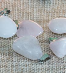 ogrlice od gorskog kristala i rozenkvarca