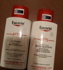 Eucerin losion za telo i losion za pranje