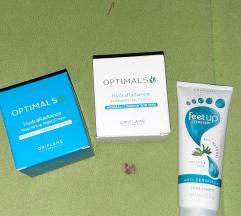 Oriflame kreme za lice i krema za stopala