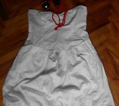 NOVO CALLIOPE bela korset haljina S