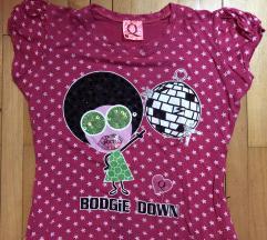 Crazy disco pink majica