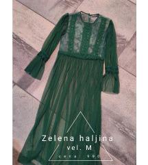 Zelena haljina S,M
