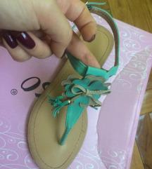 Tirkizne sandalice