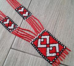 Marokanska ogrlica od staklenih perlica