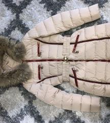 Moncler jakna kao NOVA, prirodno krzno, AKCIJA