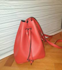 Crvena vrecasta torbica NOVO