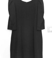 FERVENTE crna elegantna haljina 44
