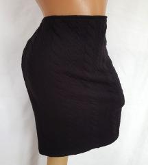 C&A ★ suknja sa reljefnim pletenicama