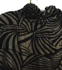 Crno zlatna bluza