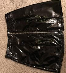Latex suknja