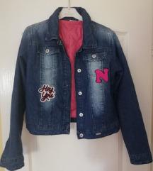 Teksas jakna za devojcicu vel 14+poklon dux