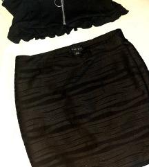 Komplet iz dva dela suknja i top