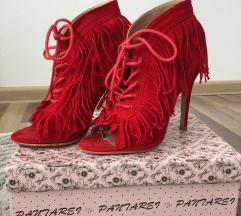 Crvene sandale 37❤️