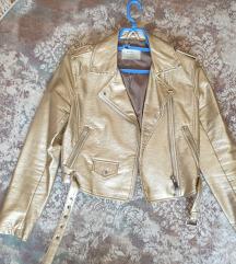Bershka jaknica metalik XS