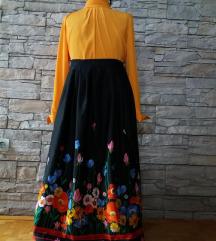 suknja cvetna