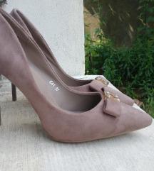 NOVE bež salonke cipele SNIŽENO