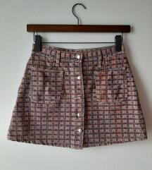 Levis komplet - prsluk i suknja M rezervisano