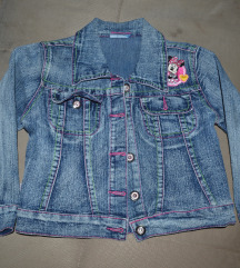 Teksas jakna za devojcicu