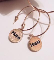 HOPE minđuše