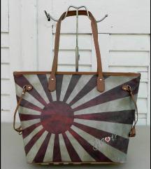 Velika atraktivna kozna torba Y NOT?