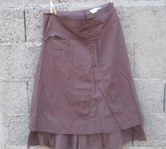 Suknja braon