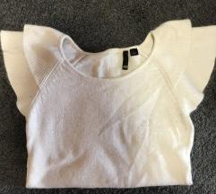 bluza bez/bela