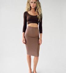 Suknja zara M/L novo sa etiketom