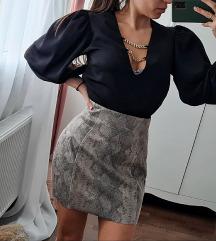Zara Snake Suknja S Novo
