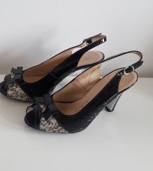 Kozne cipele otvorena peta