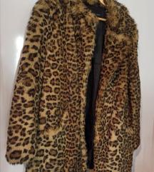 Leopard bunda od veštačkog krzna