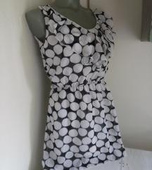 Francuska haljina bele tufne S