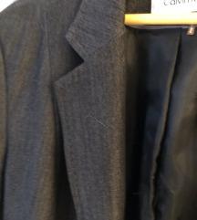 Calvin Klein tamno sivi sako