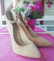 Krem plisane cipele NOVO /41