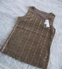 Nova unikatna bluza sa kristalima SA ETIKETOM