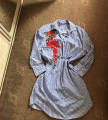 Nova Zara kosulja haljina
