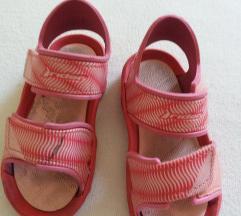 rider roze sandale gumene vel 24