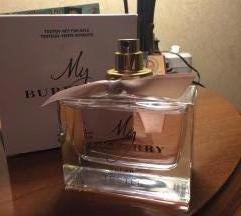 My burberry parfem 90ml,nov
