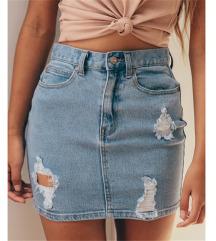 Reserved nova suknja