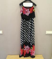 cvetna duga haljina-SNIZENO NA 3300